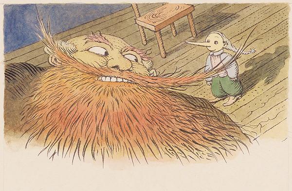 Peter Kľúčik – Červená brada