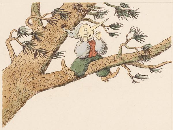 Peter Kľúčik – Buratino na strome