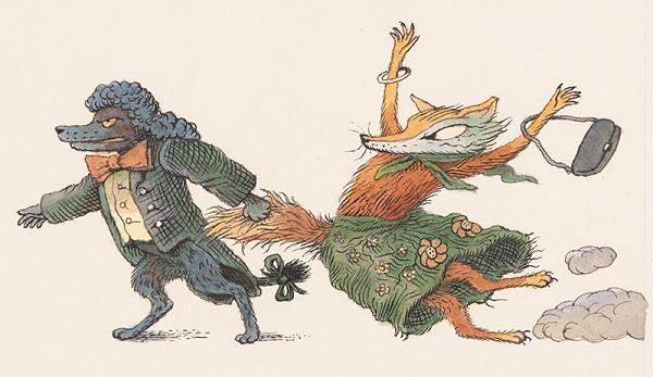 Peter Kľúčik – Pudlík a líška