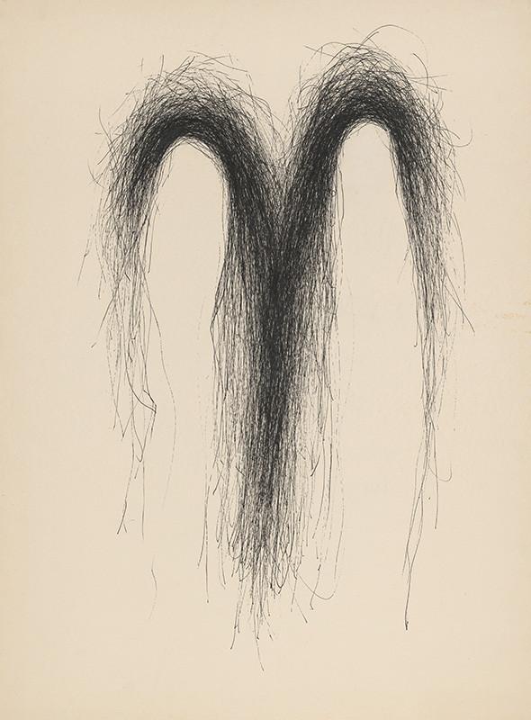 Igor Kalný – Figurálna kresba II., 1986, Slovenská národná galéria