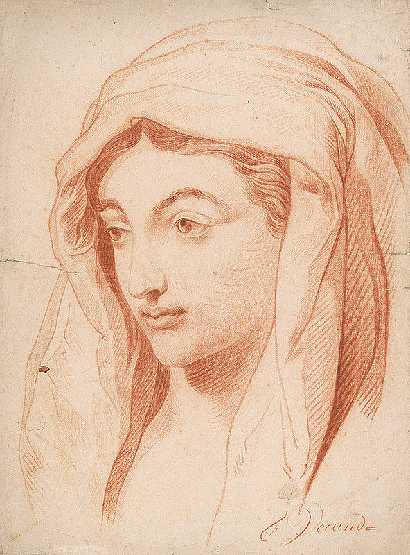 J. Verand – Ženská hlava