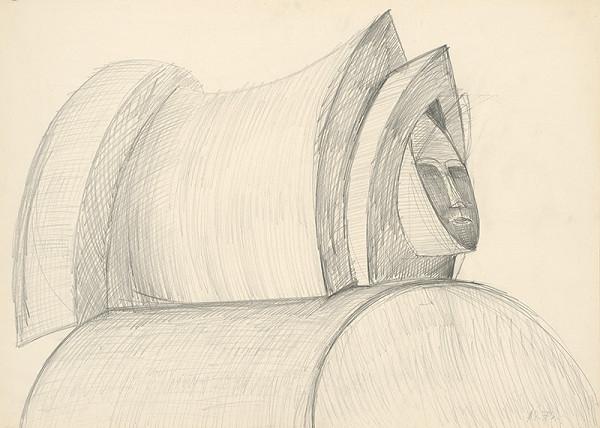 Andrej Rudavský - Hlava ženy