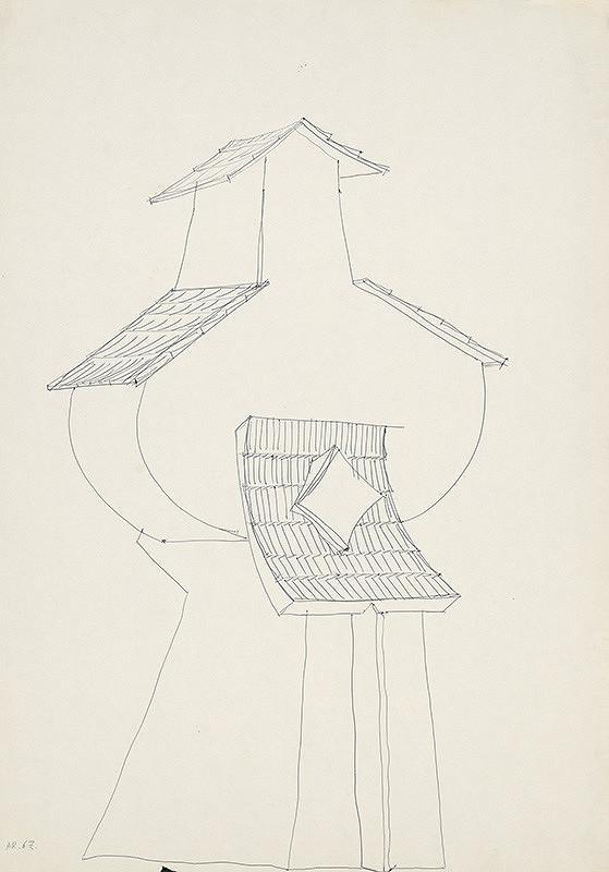 Andrej Rudavský – Kaplnka so šindľovými strieškami