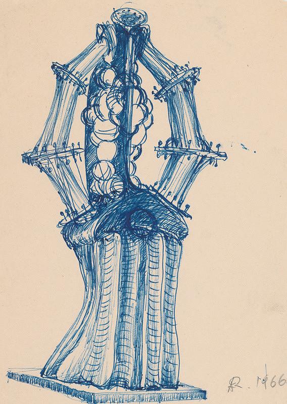 Andrej Rudavský – Kresba