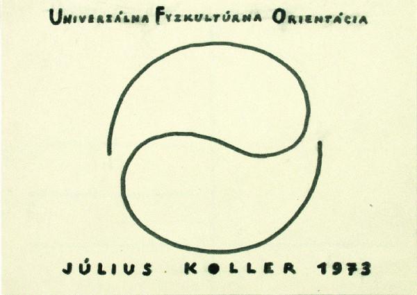 Július Koller – Univerzálna Fyzkultúrna Orientácia