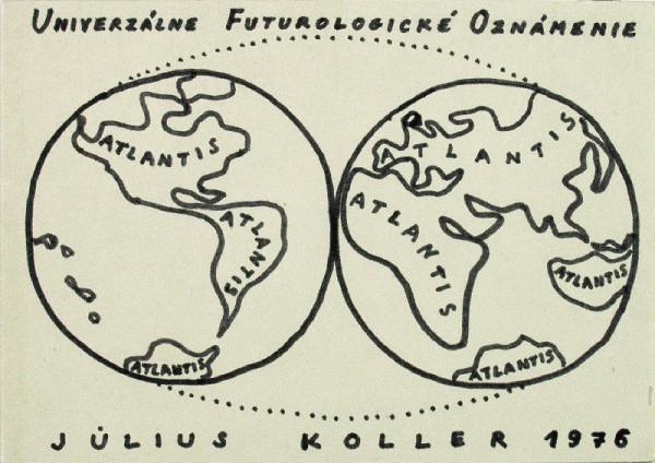 Július Koller – Univerzálne Futurologické Oznámenie