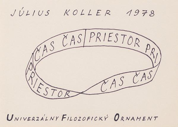 Július Koller – Čas. Priestor. [UFO]