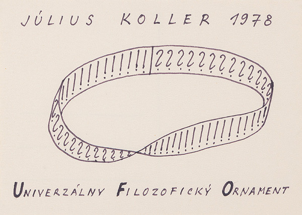 Július Koller - Univerzálny Filozofický Ornament