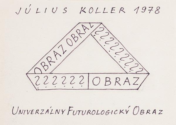 Július Koller - Univerzálny Futurologický Obraz