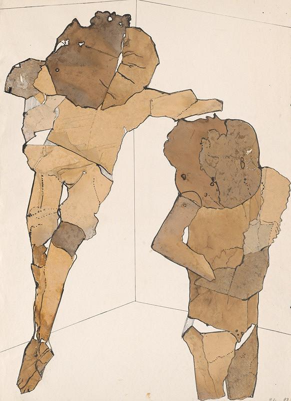 Věra Janoušková – Dve figúry