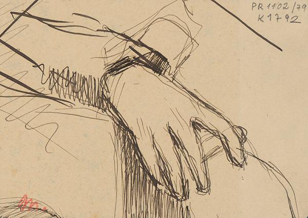 Milan Thomka Mitrovský - Štúdia pravej ruky