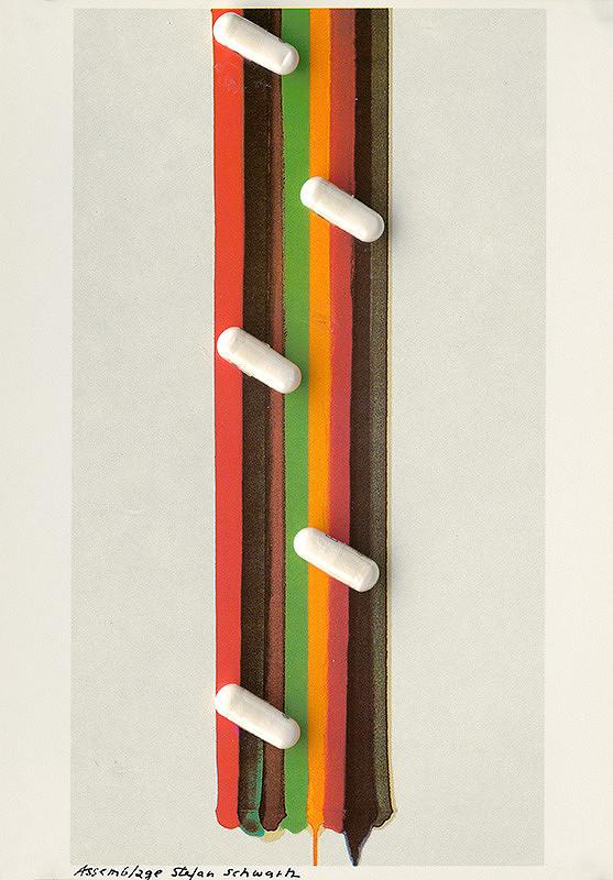 Štefan Schwartz - Morris Louis, Pfeiler der Morgendämmerung 1961 // ohne Titel