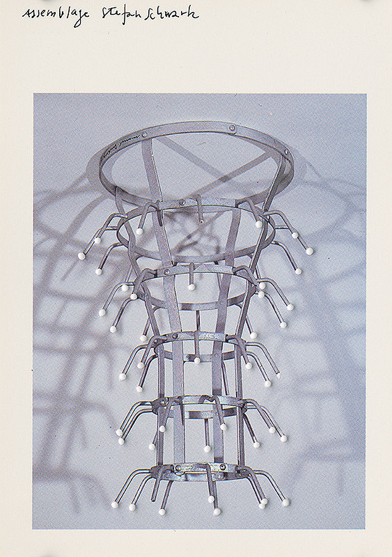Štefan Schwartz - Marcel Duchamp, Flaschenträger // ohne Titel