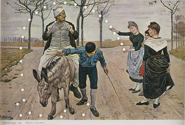 Štefan Schwartz - Ferdinand Holder, Der Müller, sein Sohn und der Esel // gestische Effizienz