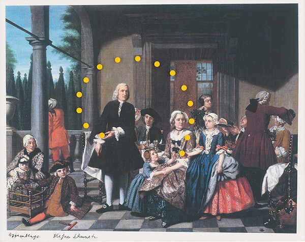 Štefan Schwartz - Jan Jozef Horemans the elder, A family meal upon a terrace // Alltägliches Mirakel