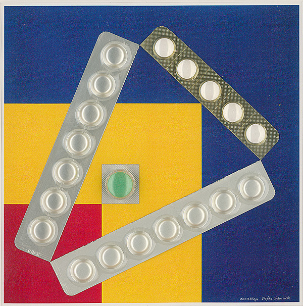 Štefan Schwartz - Ellsworth Kelly, Red, Yellow, Blue I. // ohne Titel