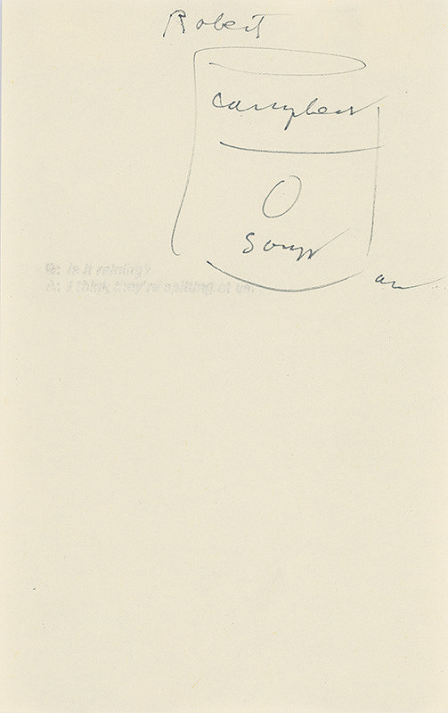 Andy Warhol - Cambell´s Soup