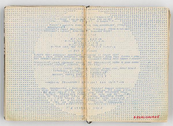 Rudolf Sikora - Konceptuálna kresba (Čas...Priestor X)