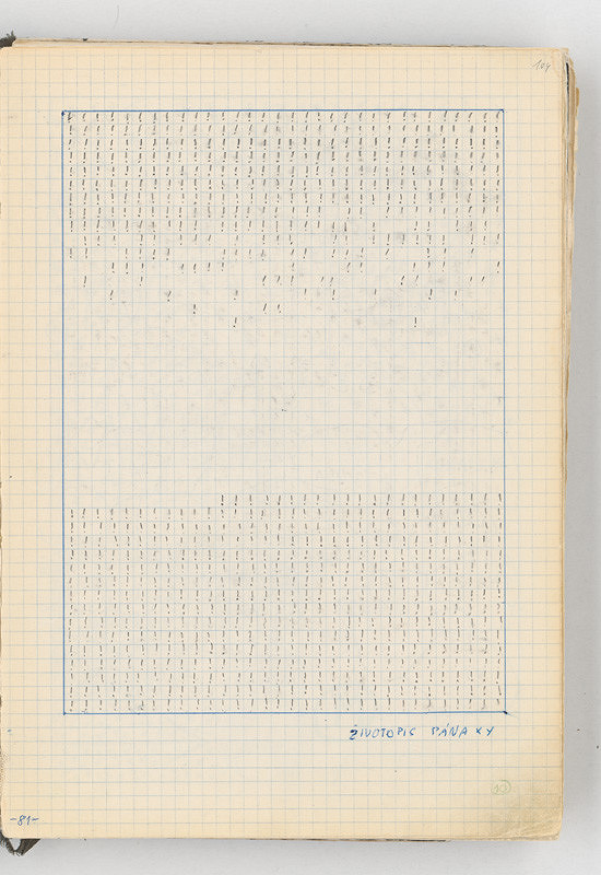 Rudolf Sikora - Konceptuálna kresba (Životopis pán XY)