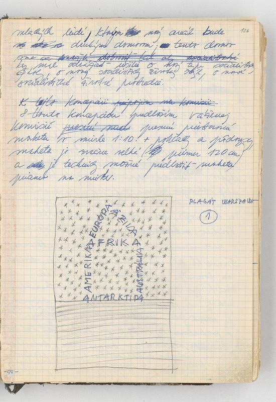 Rudolf Sikora - Poznámky a konceptuálna kresba