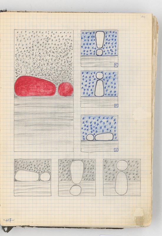 Rudolf Sikora – Kresby (z cyklu Výkričník)