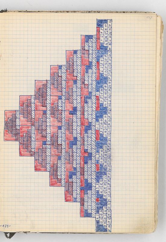 Rudolf Sikora - Kresba (z cyklu Pyramída...)