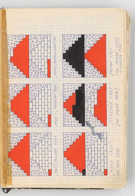 Rudolf Sikora - Kresby (z cyklu Pyramídy...)