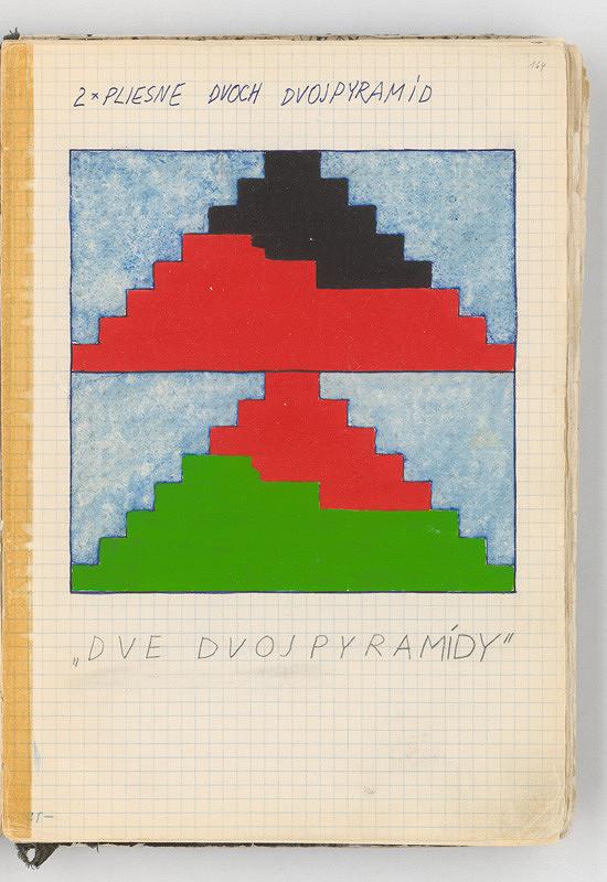 Rudolf Sikora - Dve dvojpyramídy (z cyklu Pyramídy...)
