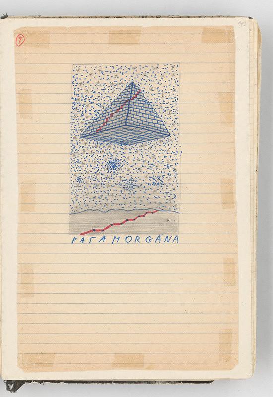 Rudolf Sikora - Konceptuálna kresba (Fatamorgána)