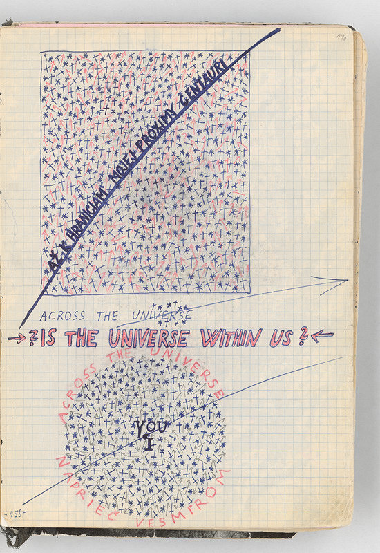 Rudolf Sikora - Konceptuálna kresba (Až k hraniciam mojej Proximy Centauri)
