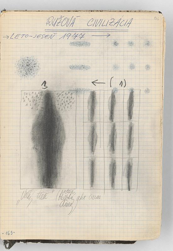 Rudolf Sikora - Konceptuálne kresby (Ružová civilizácia)