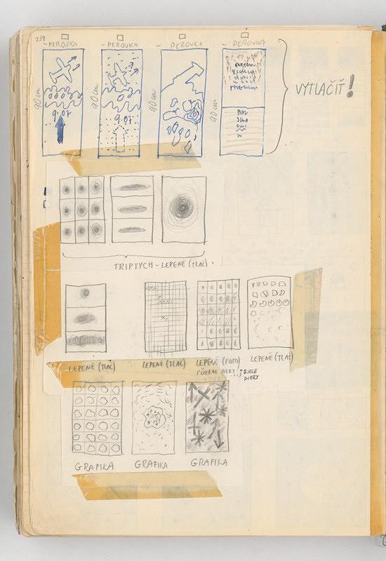 Rudolf Sikora – Konceptuálne kresby (miniatúry konceptov)