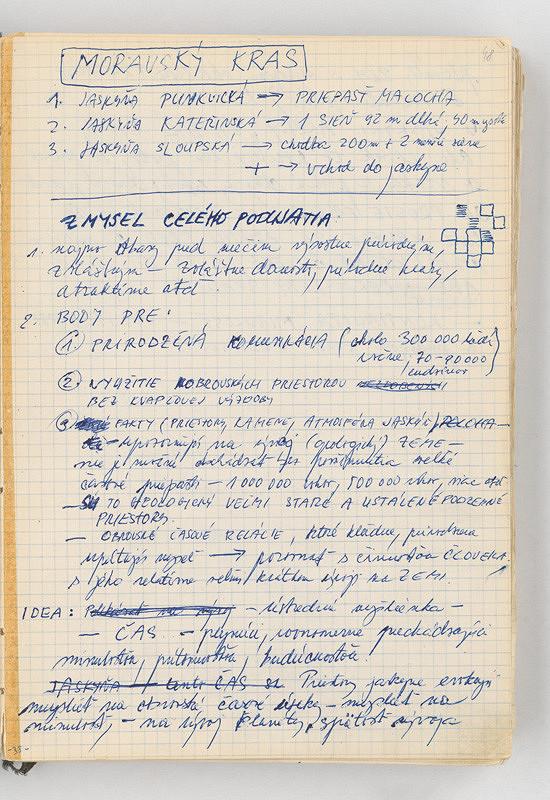 Rudolf Sikora - Poznámky (k projektu ČAS I...)