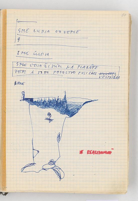 Rudolf Sikora – Poznámky a kresba