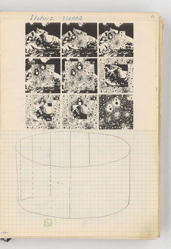 Rudolf Sikora - Konceptuálna kresba a koláž