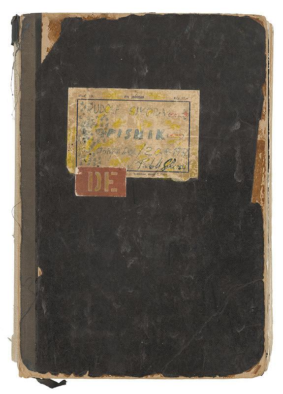 Rudolf Sikora – Zápisník