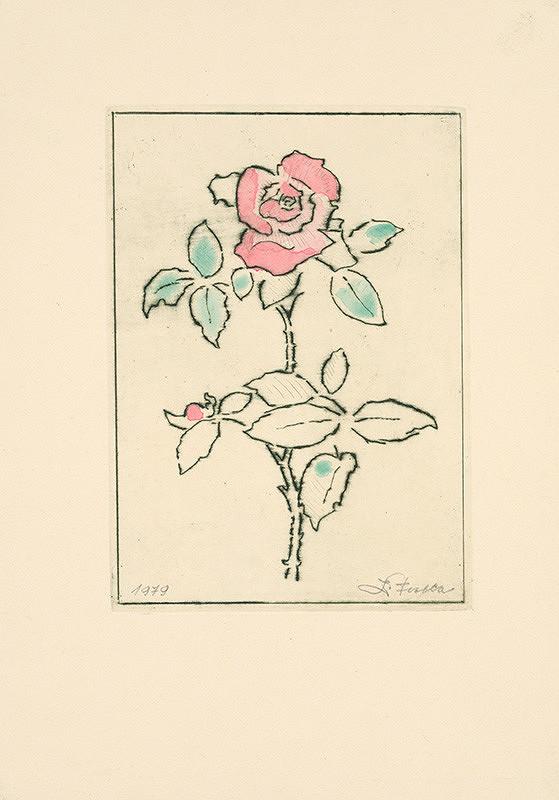 Ľudovít Fulla - Ruža