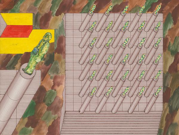 Jozef Jankovič - Projekt pamätníka čestnej rote v roku 2000