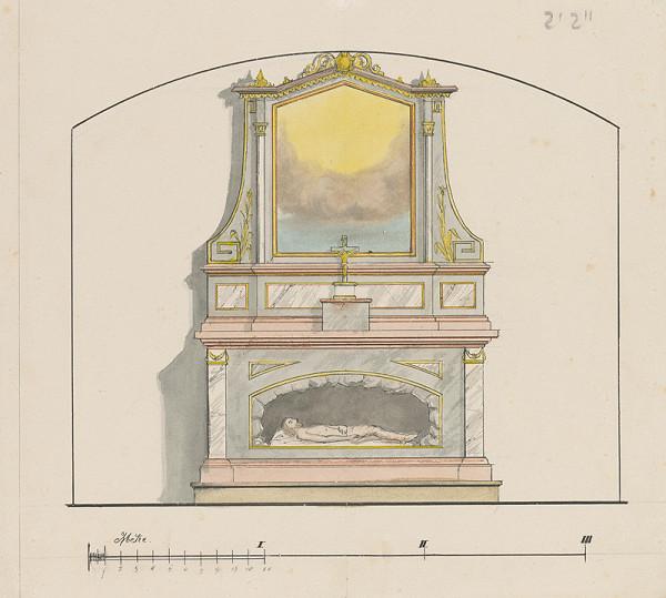Konrád Švestka – Návrh na boží hrob