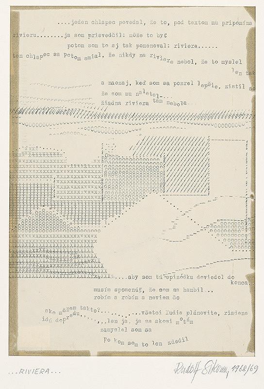 Rudolf Sikora - Zo zápisníka IV. (...Riviéra...)