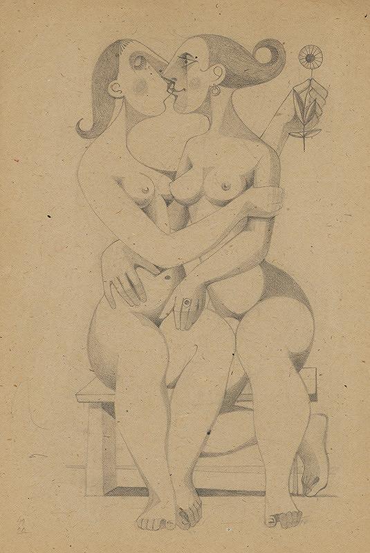 Theodor Lugs - Dve ženy