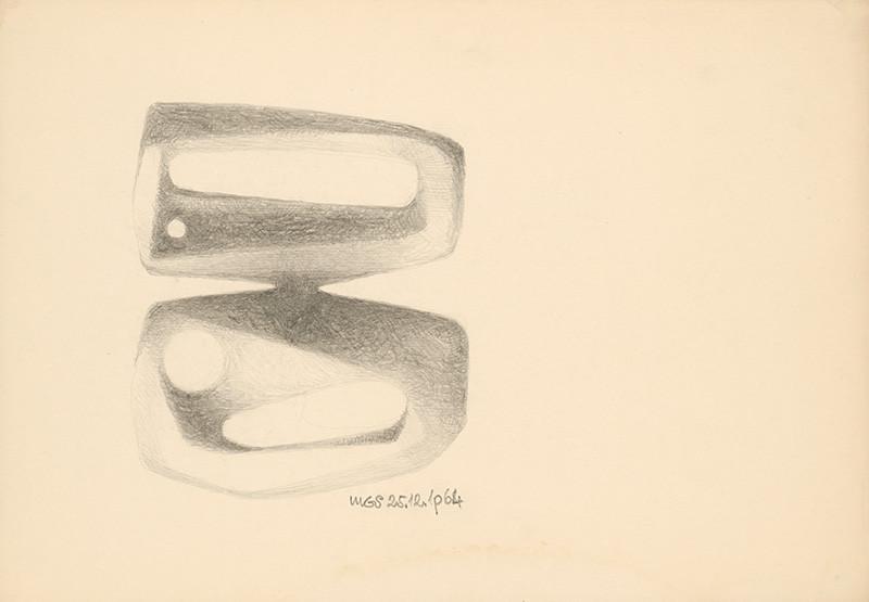 Theodor Lugs – Bez názvu, 1964