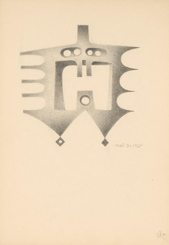 Theodor Lugs – Metamorfózy hláv III., 1965