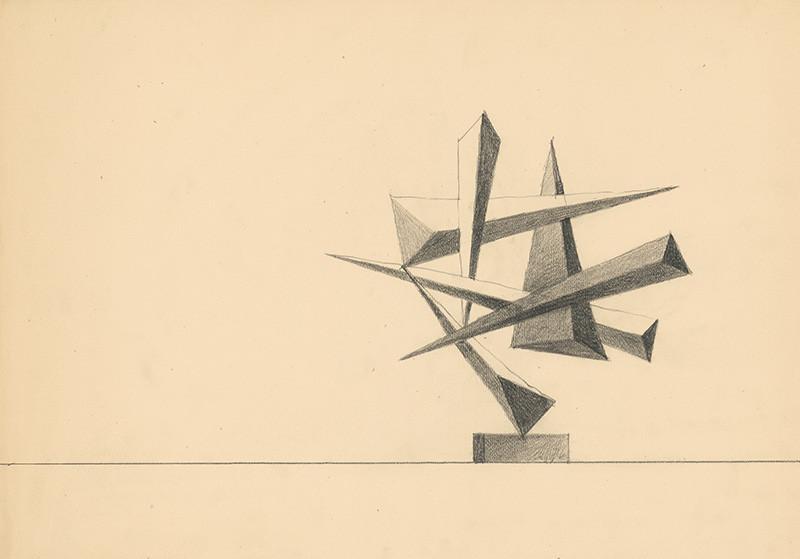 Theodor Lugs – Štúdia k soche, 1960 – 1965