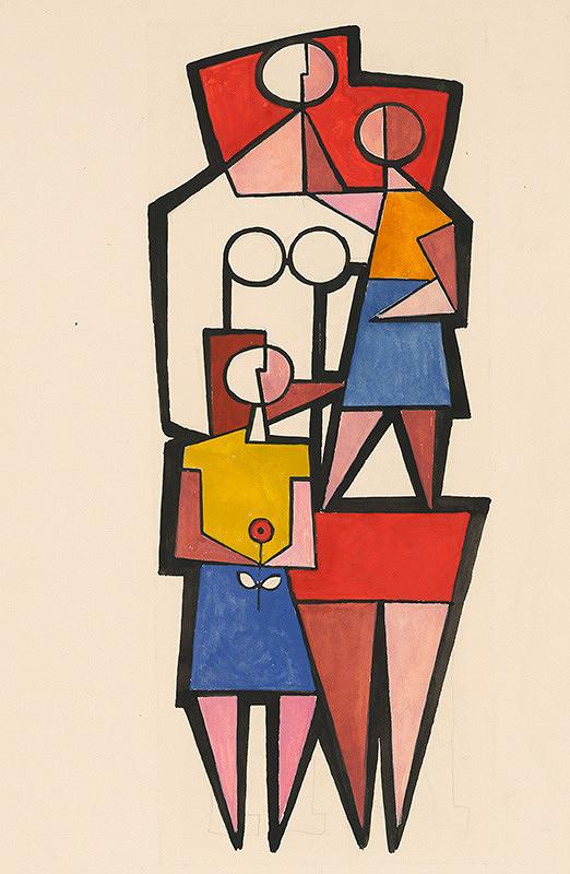 Theodor Lugs - Matka s deťmi