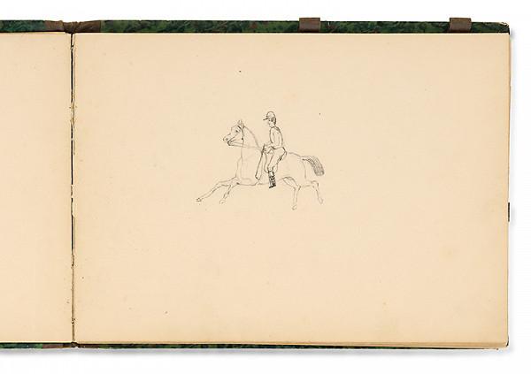 Július Odescalchi – Jazdec na koni