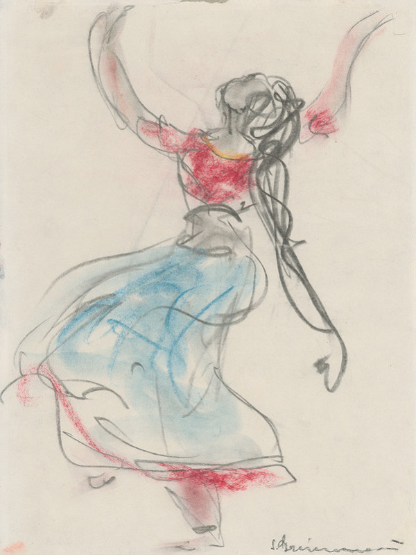 Sibylla Greinerová – Motív z indického tanca I.