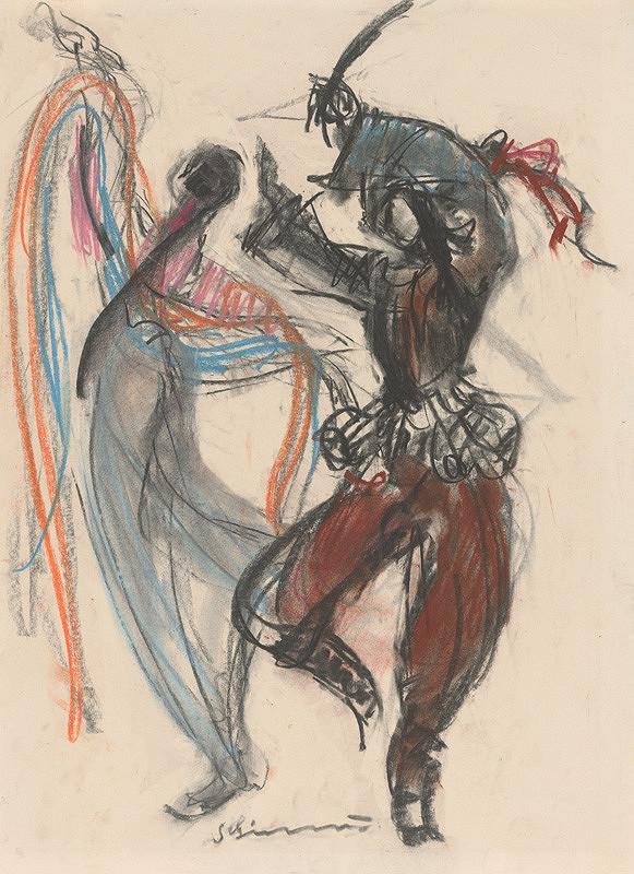 Sibylla Greinerová - Čínsky tanec so závojom