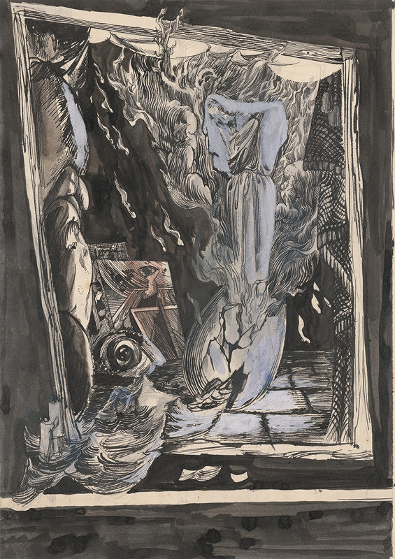 Ján Novák - Surrealistická kompozícia