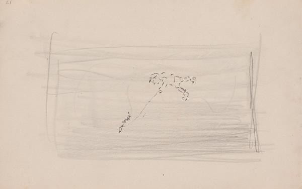 Arnold Peter Weisz-Kubínčan – Skicár 10 Chlapec s papierovým drakom